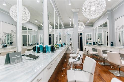 BLEU Uptown Blowdry Stations