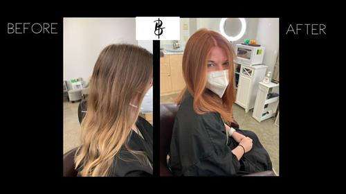Before Color by Biba & After color