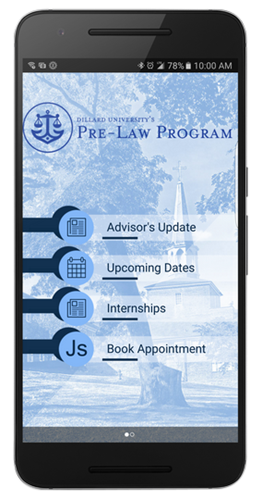 Dillard University Pre-Law Program App