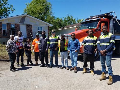 Dedicated trucking staff