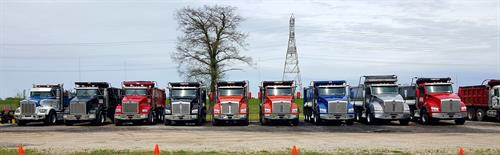 Dump Truck Fleet  growing every year