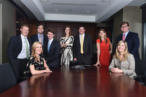 The future is bright at Gillis, Ellis & Baker - Pictured here are a few of our young(er) insurance producers.