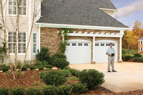 Professional and reliable garage door repair.