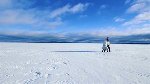 From music video shot in Arctic Circle