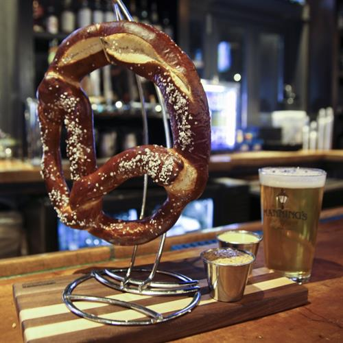 Game Day Pretzel