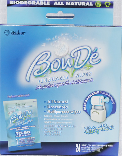 BouDe Wipes
