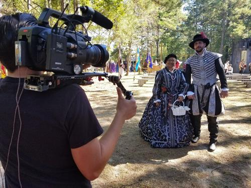 Social media video about the Louisiana Renaissance Festival.