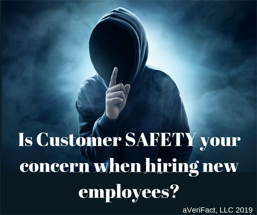 Do you KNOW your employee's Criminal/Civil/Sex Offender history?  Are you putting your customers at risk?