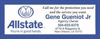 Allstate  Gene Gueniot Jr Insurance Agency