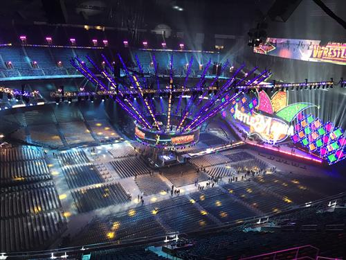 Wrestlemania 2018 Mercedes Benz Superdome