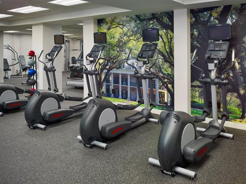 Newly reimagined 24hr Fitness Center