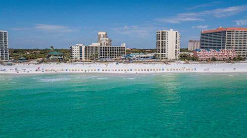 Enjoy beachfront views at the area's largest full service resort hotel!