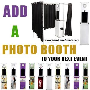 Custom Branded Photo Booth