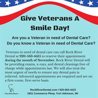 Rock River Dental hosts Give Veterans A Smile Event