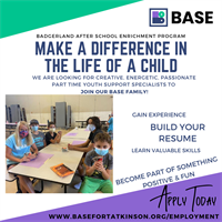 BASE Youth Support Specialist and Site Coordinators