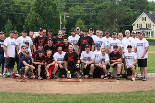 Jefferson PD/FD & Fort PD/FD during Baseball Fest