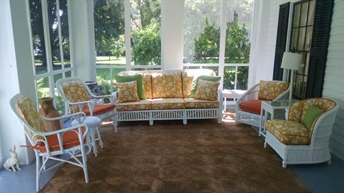 Fort Atkinson Porch Makeover