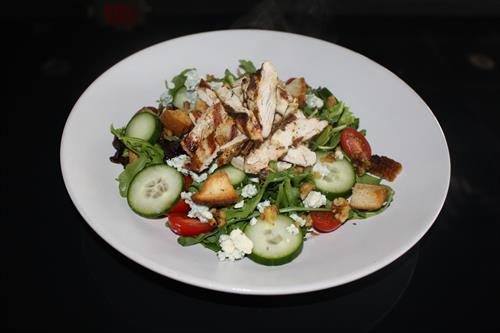 Simple Salad with Chicken
