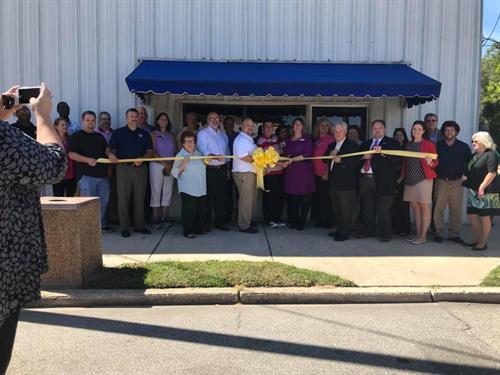 Our official ribbon cutting - October 2017