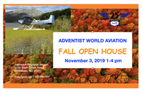ADVENTIST WORLD AVIATION FALL OPEN HOUSE