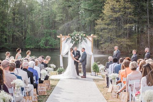 Outdoor Ceremony at The Farm at 42