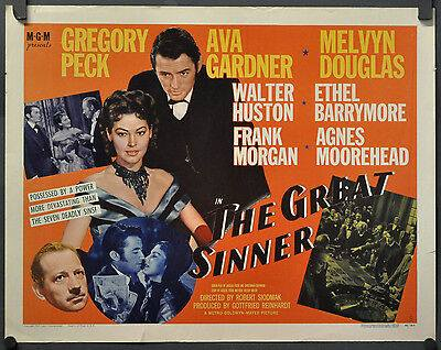 The Great Sinner - WORLD PREMIER 1949