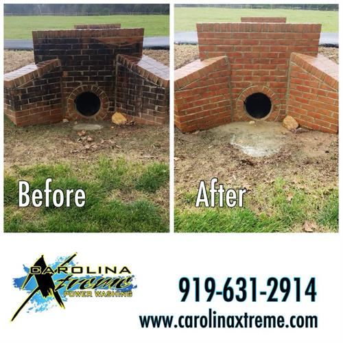 Residential Brick Cleaning in Clayton, NC