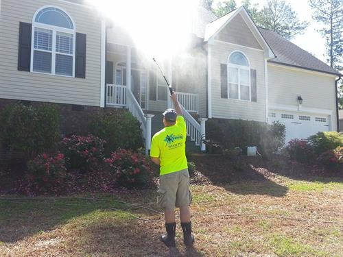 House Wash in Clayton, NC