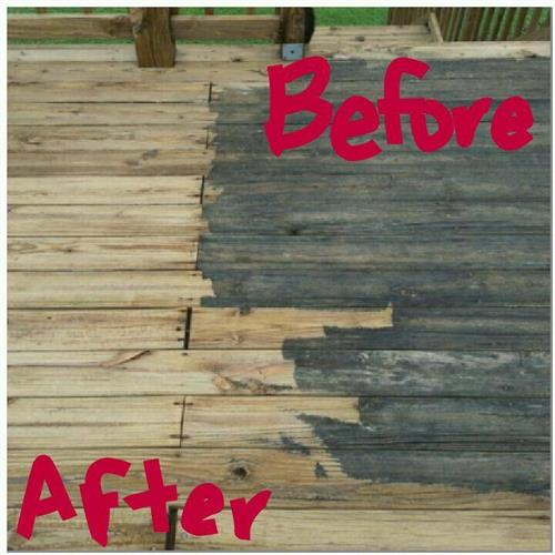 Residential Deck Cleaning in Selma, NC