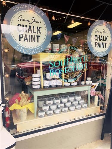 We're proud to be the Johnston County and neighboring communities Annie Sloan Chalk Paint Stockist