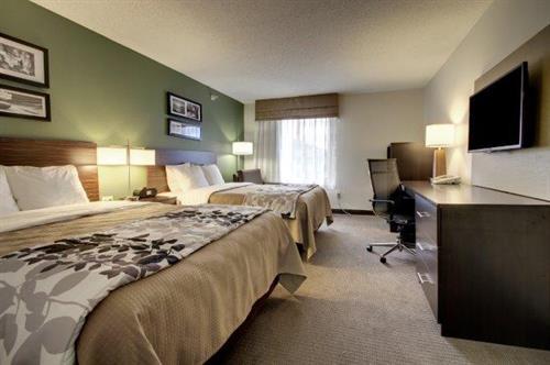 2 Queen standard room