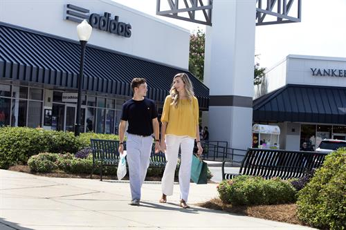 Outlet Shopping at Carolina Premium Outlets, Smithfield, NC.