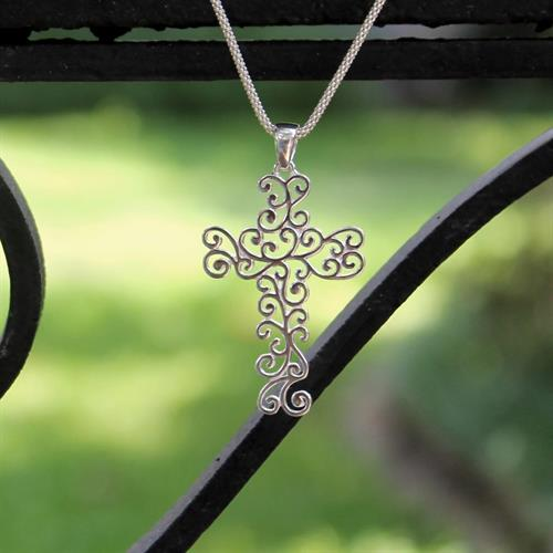 Southern Gates Cross Necklace
