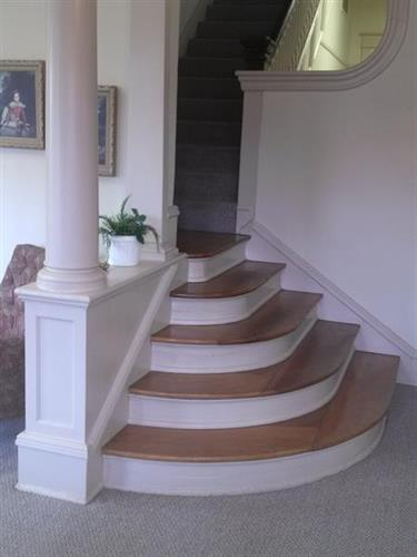Original 1904 staircase