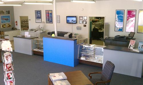 Take a look at what we have done around our store.