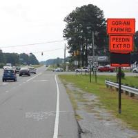 Two-year road construction project begins on US 70 east of Selma