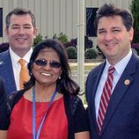 Congressman visits Neuse Charter School