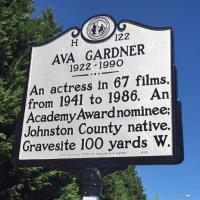 Ava Gardner memorialized with historical marker