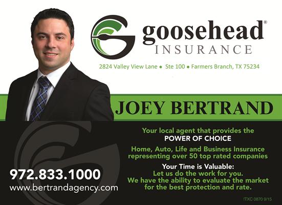Goosehead Insurance - Bertrand Insurance Agency