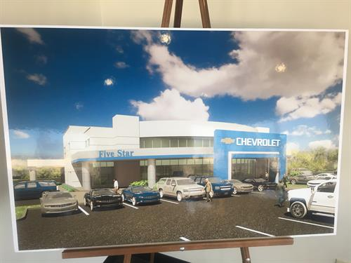 A rendering of our new facility to open June 1st!