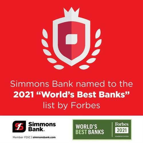 Forbes Best Banks 2021!