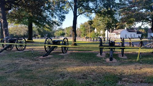 Carter Hill Battlefield Park - Cotton Gin Site