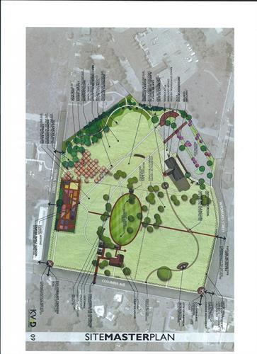 Carter Hill Battlefield Park Master Site Plan