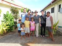 Ratuva and his family- our new friends! Fiji