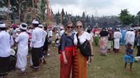 In the Besakih Hindu Temple- Bali