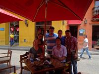Friends in Cartagena, Colombia
