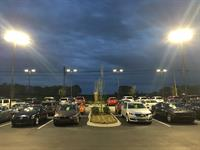 LED Parking Lot Lights for Auto Dealerships
