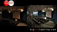 Before and After - Auditorium LED Conversion