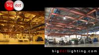 Before and After - Warehouse LED Conversion