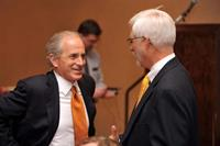 With Senator Corker